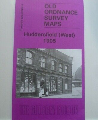 Old Ordnance Survey Maps Huddersfield West Yorkshire 1905 S 248.14 New Map