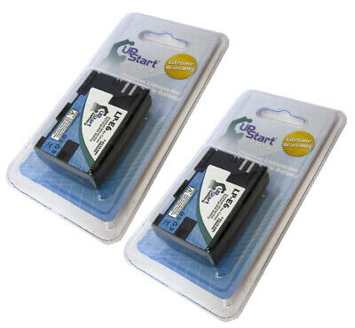 TWO LP-E6 LC-E6 CBC-E6 BATTERY FOR Canon EOS CAMERA 5D Mark II 7D UPSTART 2X