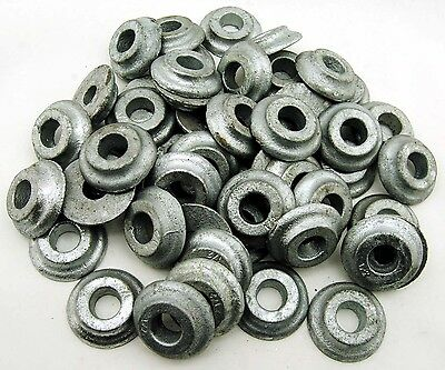 """(20) Galvanized 1/2"""" Lag Bolt Washers Structural Ogee 2"""" OD"""