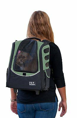 Pet Gear 5 in 1 I-GO2 Escort Wheel Around Airline Approved Pet Dog Carriers