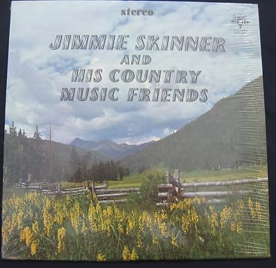 Jimmie Skinner And His Country Music Friends Lp Sealed