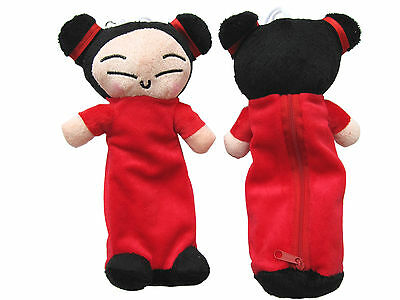 Brand New PUCCA  Plush Pencil bag x 1