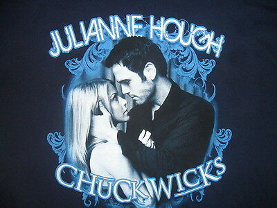JULIANNE HOUGH CHUCK WICKS SHIRT Got Dance DANCING WITH STARS Blue 2Xl XXL