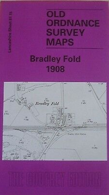 Old Ordnance Survey Maps Bradley Fold  Lancashire 1908 Sheet 87.15 New