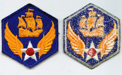 6th AIR FORCE PATCH FULL COLOR WW2 ORIGINAL - ARMY AIR FORCES