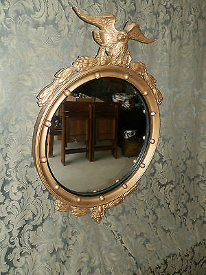 "Very Nice Vintage  Federal Style Mirror Heavy  & Substantial 30""x20.5"""