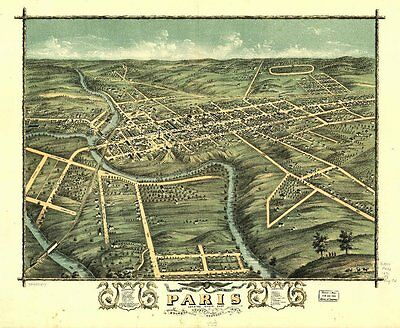 Kentucky Vintage Panoramic Maps Collection On Cd