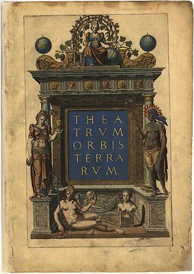 Theatrum Orbis Terrarum Vintage Maps Collection On Cd