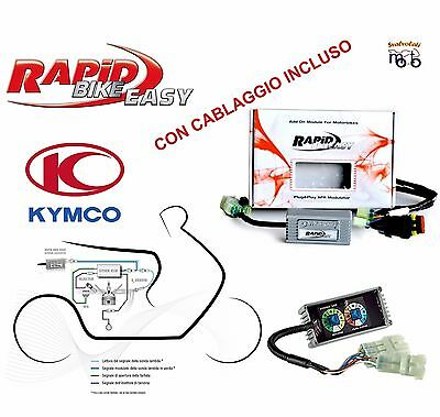 Centralina Scooter Rapid Bike Easy Con Cablaggio Kymco Xciting 250 I 2006 2007
