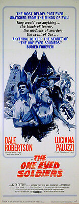 ONE EYED SOLDIERS 1966 Dale Robertson Luciana Paluzzi US INSERT POSTER