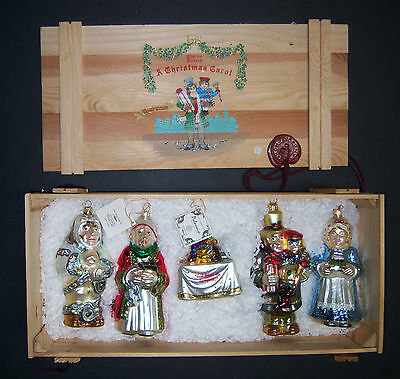 Polonaise Charles Dickens A Christmas Carol Limited Edition Ornament Box Set