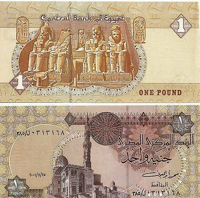 Egypt One Pound Uncirculated  2006 Egyptian Note UNCIRCULATED