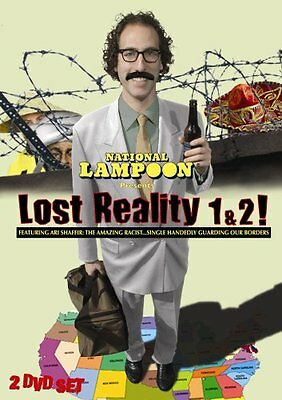 Lost Reality - 1 & 2 (DVD 2-Disc Set) National Lampoon   NEW