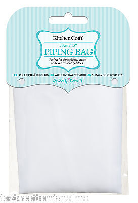 Kitchen Craft Reusable Nylon Food Piping Bag 15 Inch / 39cm