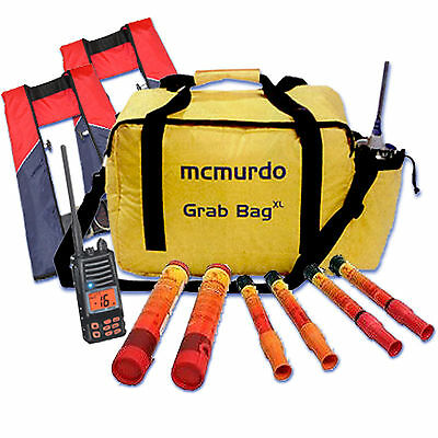 Emergency Grab Bag Large - Rapid Ditch Safety Equipment Storage