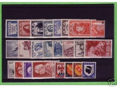 Timbres  Annee  Complete  France Neuf  Luxe  1946 +++