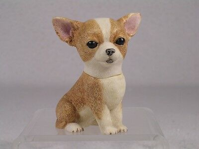 Harmony Kingdom Ball Pot Bellys / Belly  'Pepe' Chihuahua Dog #PBZHO4 New In Box