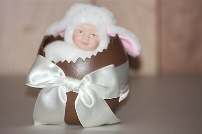 Anne Geddes Easter Egg Lamb Doll