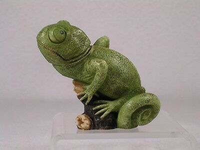 Harmony Kingdom Ball Pot Bellys Belly 'Chalmers' Chameleon  #PBZCH New In Box