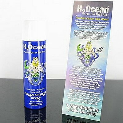 New H2Ocean Body Jewelry Piercing Aftercare Spray 4Oz