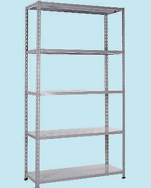 Kit Scaffale Metallo.Scaffali Scaffale Metallico In Kit Cm 100x40xh188 Brixo Master Genius