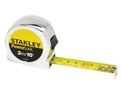 STANLEY 033523 PowerLock® TAPE MEASURE METRIC/IMPERIAL 3M/10' x 19mm x 1