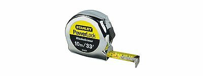 STANLEY 033526 PowerLock® BladeArmor®  TAPE MEASURE METRIC/IMP 8M/26' x 25mm x 1