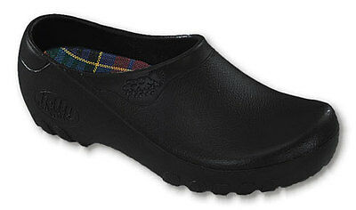 Mens Chef Garden All Weather Comfort Clogs Shoes Black All Sizes Medium (D,M)