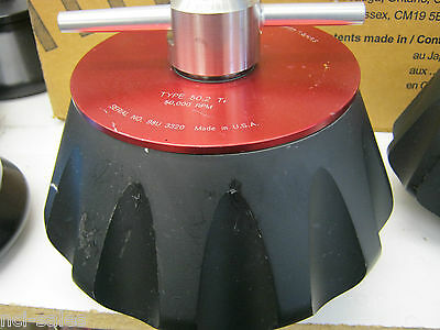 Beckman 50.2 Ti 12 Position 50,000 Rpm Fixed Angle Centrifuge Rotor