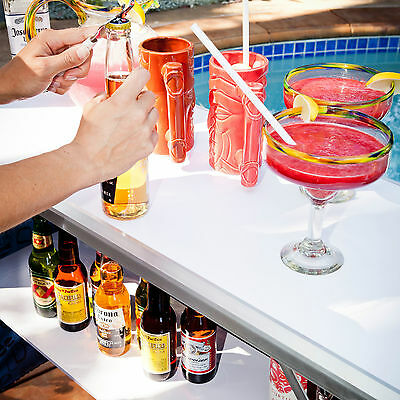 GoPong Poolside Tiki Bar - Sets up in 30 Seconds!  Ultra Light Weight