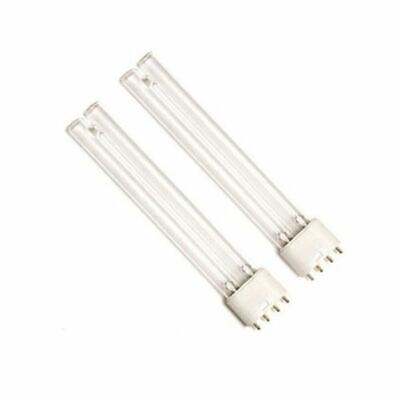 Twin Pack 55W 55 Watt Pll Pond Filter Uv/uvc Bulb/light/tube/lamp Ultra-Violet