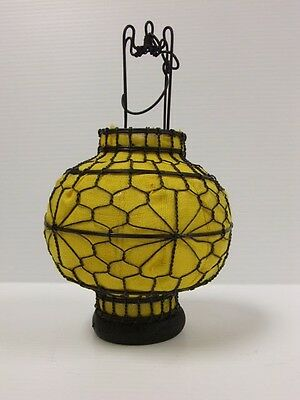 Lovely Chinese Small Round Yellow Lantern Home Decor MAY30-02
