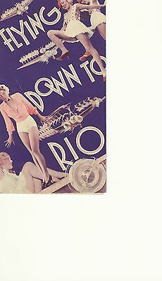 Flying Down To Rio(1933)Fred Astaire Ginger Rogers Original Herald