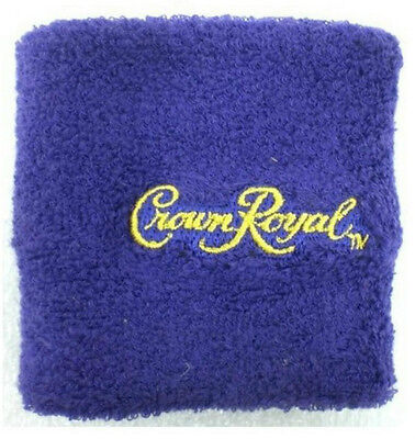 Crown Royal Purple Bartender Wrist Band Promo NEW Canadian Whiskey