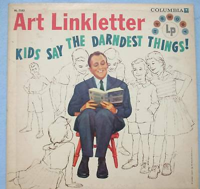 Art Linkletter Kids Say The Darndest Things! Record