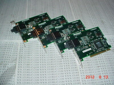 4PC LOT ADAPTEC ANA-6910/FX 100base FX FAST ETHERNET FIBER PCI CARDS ANA6910FX