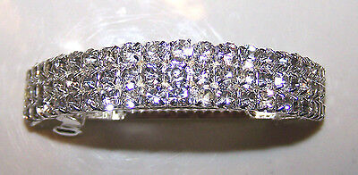 Nwt New Tighe Dance Gymnastics Rhinestone Competition Ponytail Barrette Cute