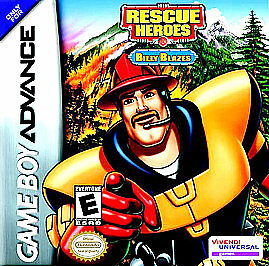 RESCUE HEROES: BILLY BLAZES Gameboy Advance Game Boy gba *NEW/SEALED* US USA