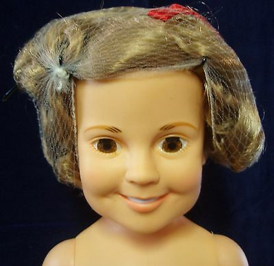 Ideal 1972 SHIRLEY TEMPLE DOLL undressed