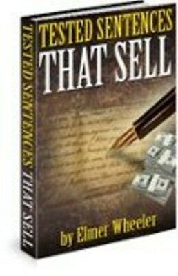 Elmer Wheeler Tested Sentences That Sell The Sizzle Copywriting Marketing Sales