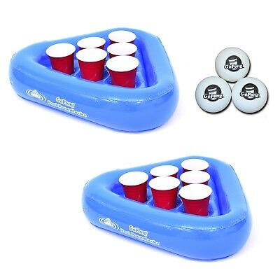 """Floating """"Pool Pong"""" Beer Pong Game as seen in Comedy Central's """"Workaholics"""""""