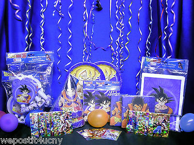 DragonBall Z Party Set # 17 DragonBall Z Party Supplies  For 16