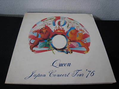 Queen 1976 Japan Tour Book Concert Program Freddie Mercury
