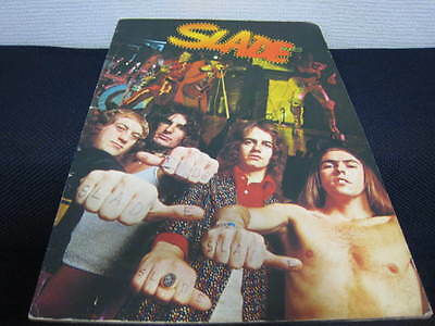 Slade 1974 Japan Tour Book Concert Program Glam Rock