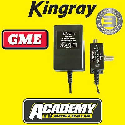 Power Supply Kingray Psk08F For Boosters & Amplifiers