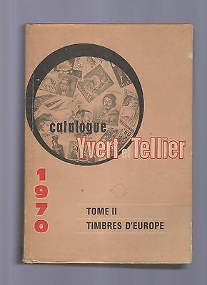 catlogue de timbres poste-yvert et tellier tome II° timbres d europe -