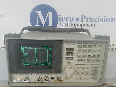 Hp 8590A Spectrum Analyzer *sold As Is*
