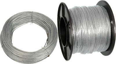 Guy Wire / Catenary Wire 180 Metre Spool 7 Strand .09Mm Galvanised 180M