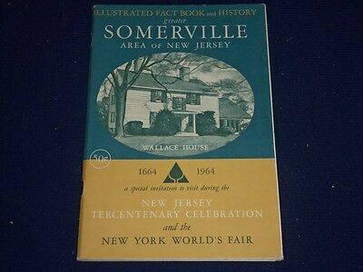 1964 Illustrated Fact Book & History Of Somerville Area Of New Jersey - Ii 8660