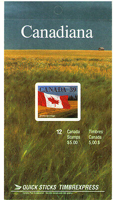 Canada 1990 MiMH 0-124 22.00 MiEu 1 Booklet  mnh  Definitive Issue